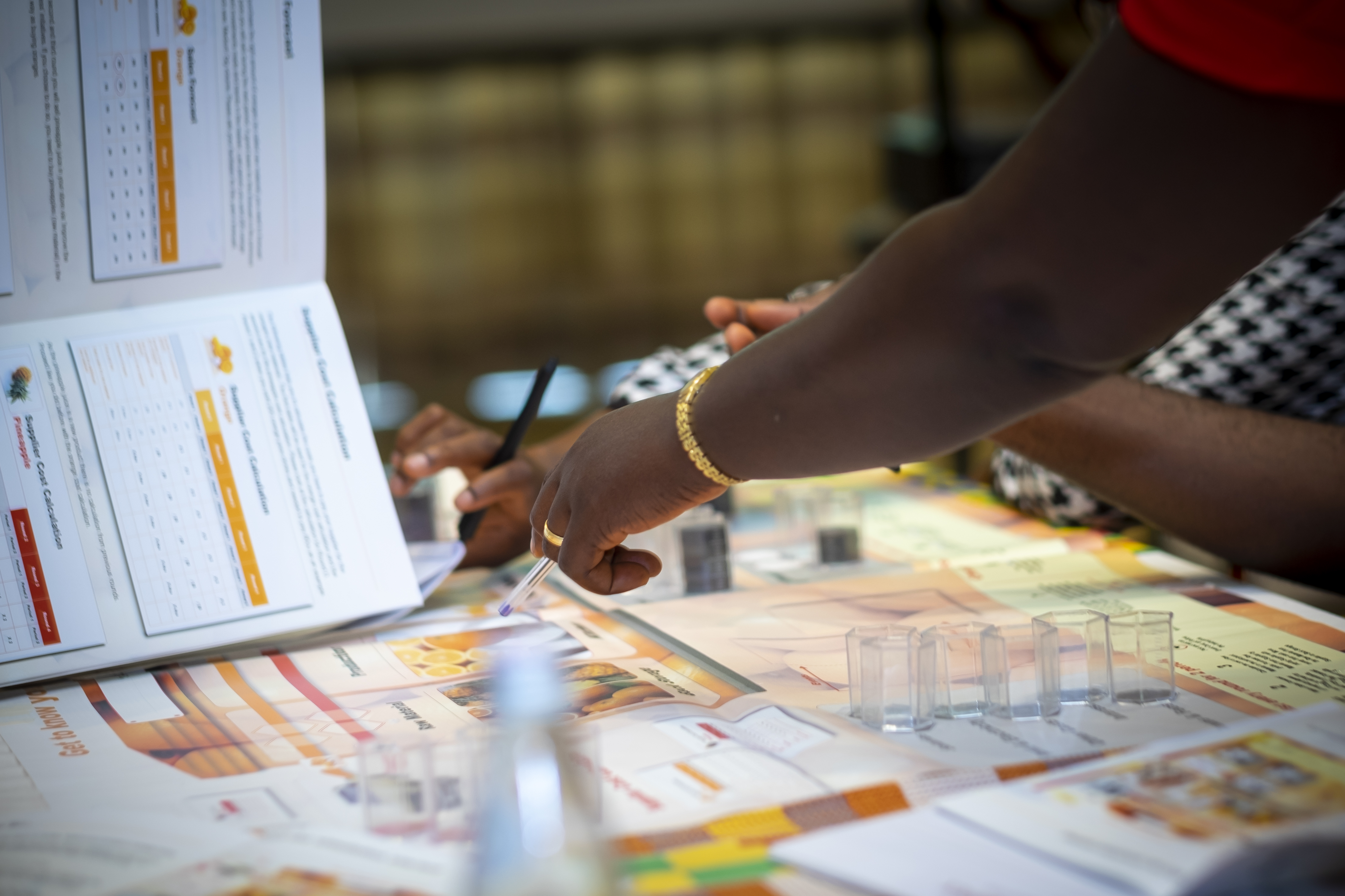 Training for SMEs on financial skills and services in Ghana