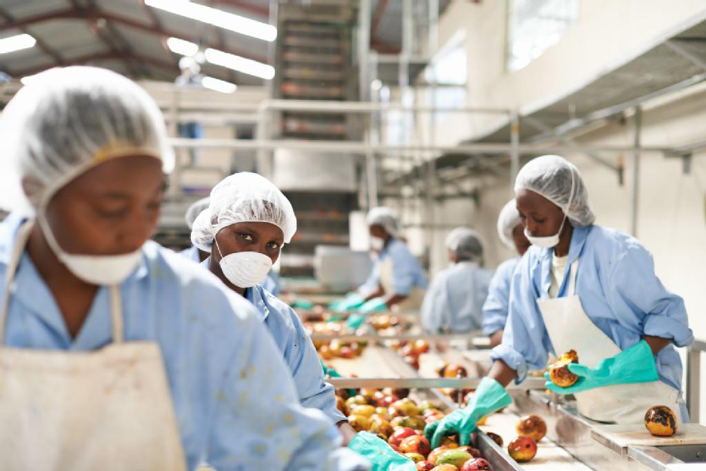 Employees at facility