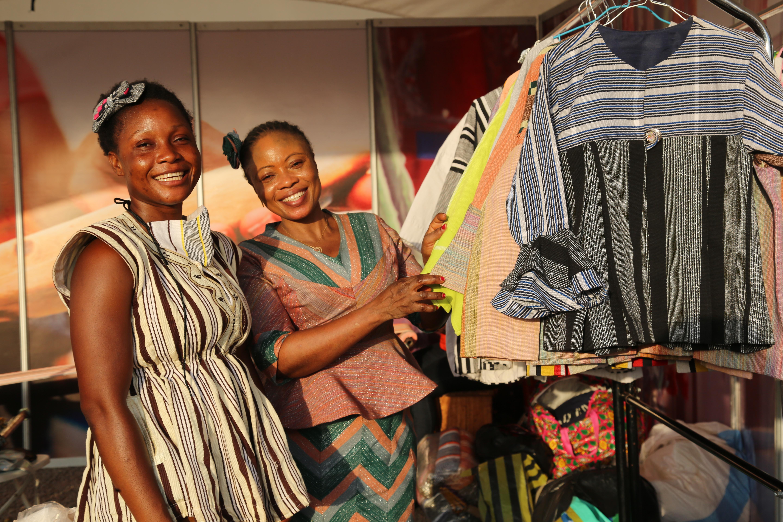 Participants of Needles 4 Girls Ghana