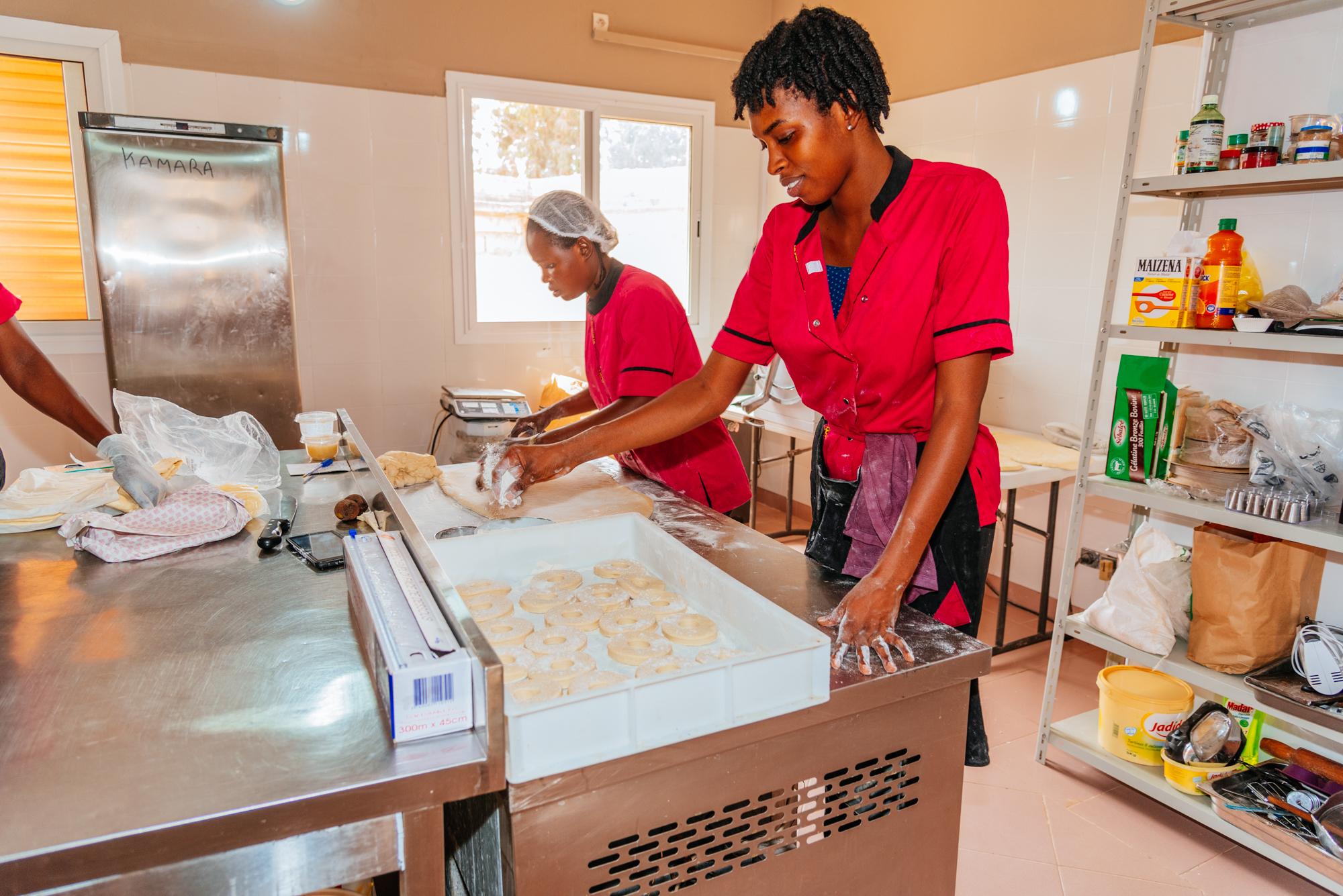 Mburu Mitarbeiterinnen