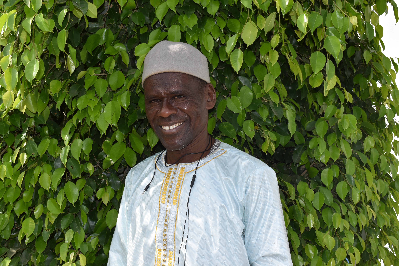 Saidou Diop, Korbwarenhandwerker aus Senegal