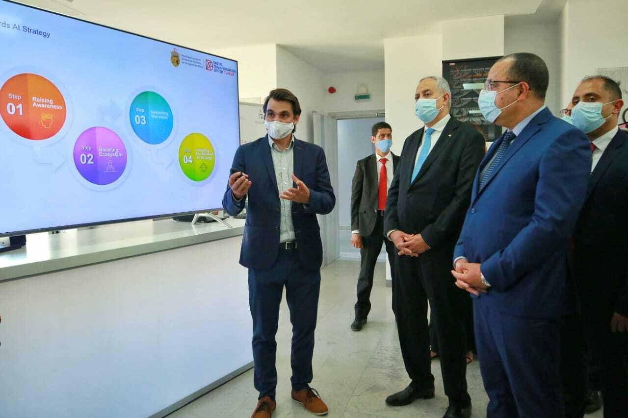 Eröffnung des kreativen Digitalzentrums in Tunesien