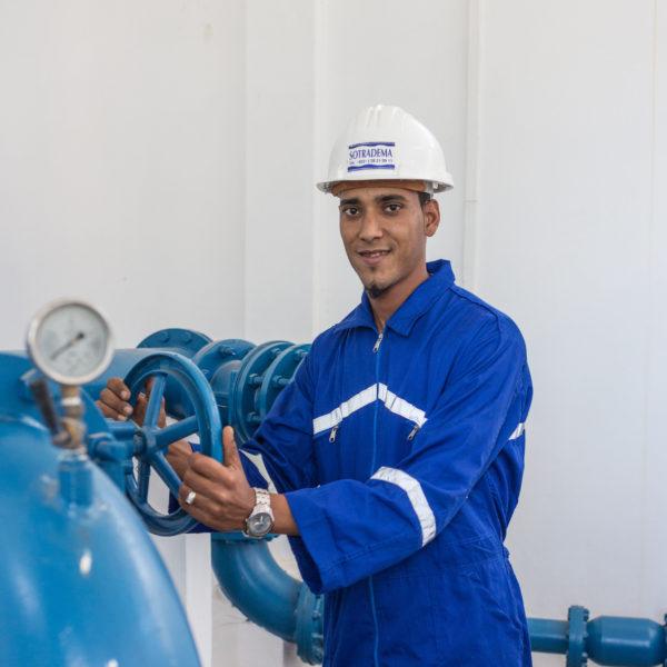 employé au Maroc