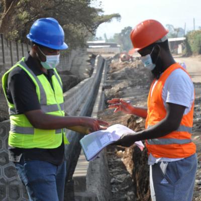 Une nouvelle route d'accès à la zone industrielle de Butajira