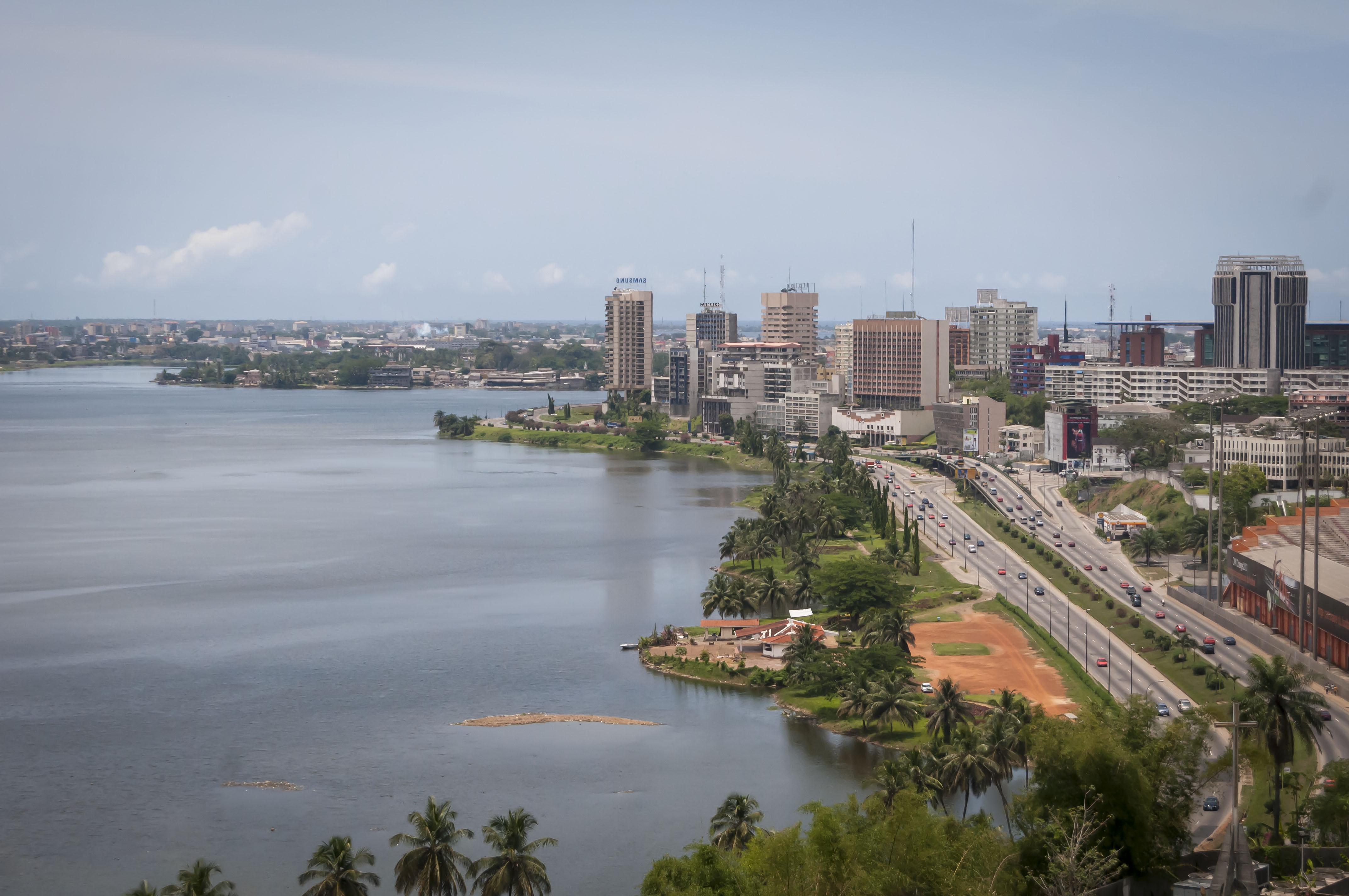 A coast at the Côte d'Ivoire