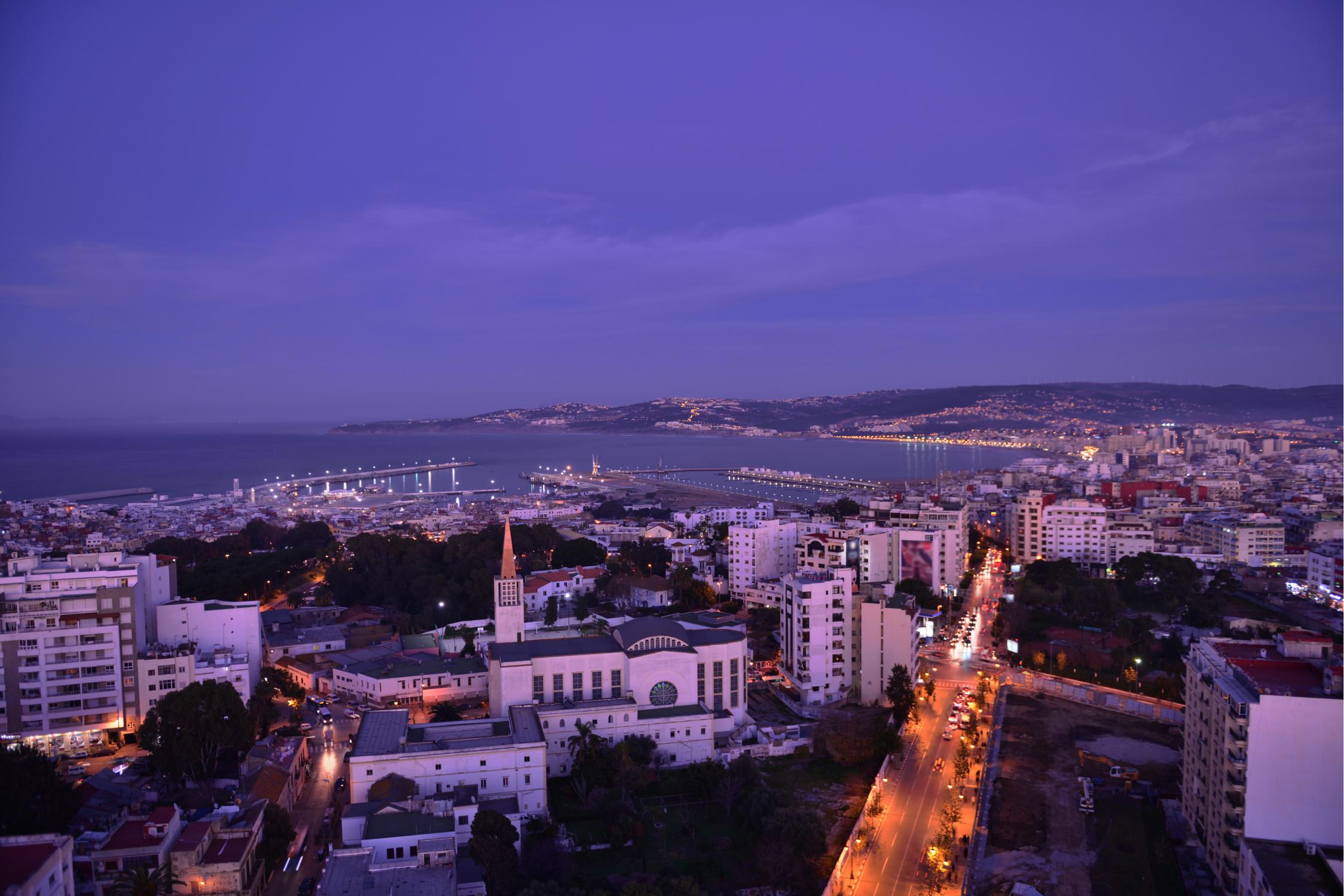 Une ville au Maroc